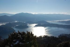 水月湖と菅湖