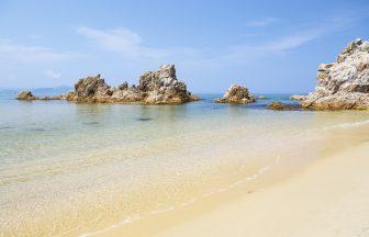 若狭美浜の海